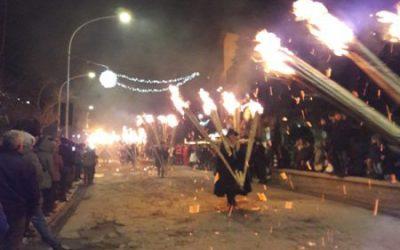 La 'ndocciata, Agnone's most famous event